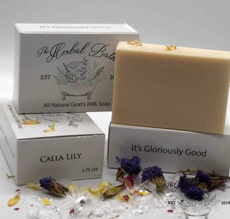 calla lily soap