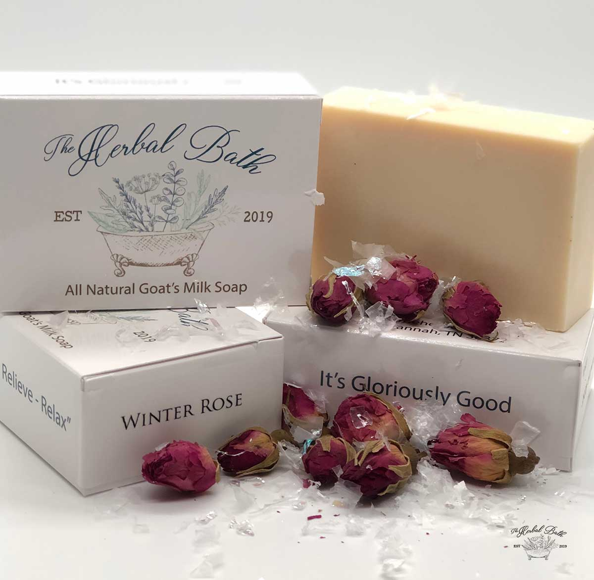 Winter Rose Soap