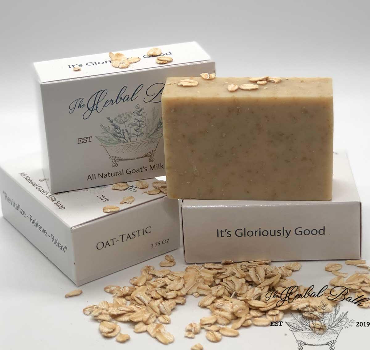 Oat - tastic soap