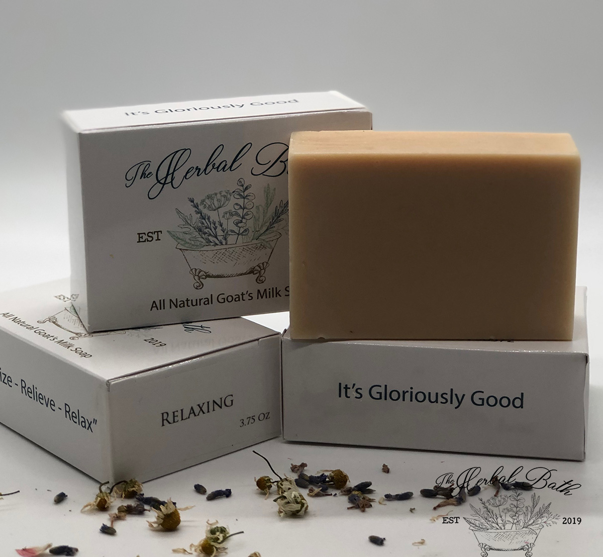 Relaxing Signature Blend-Goat's milk soap