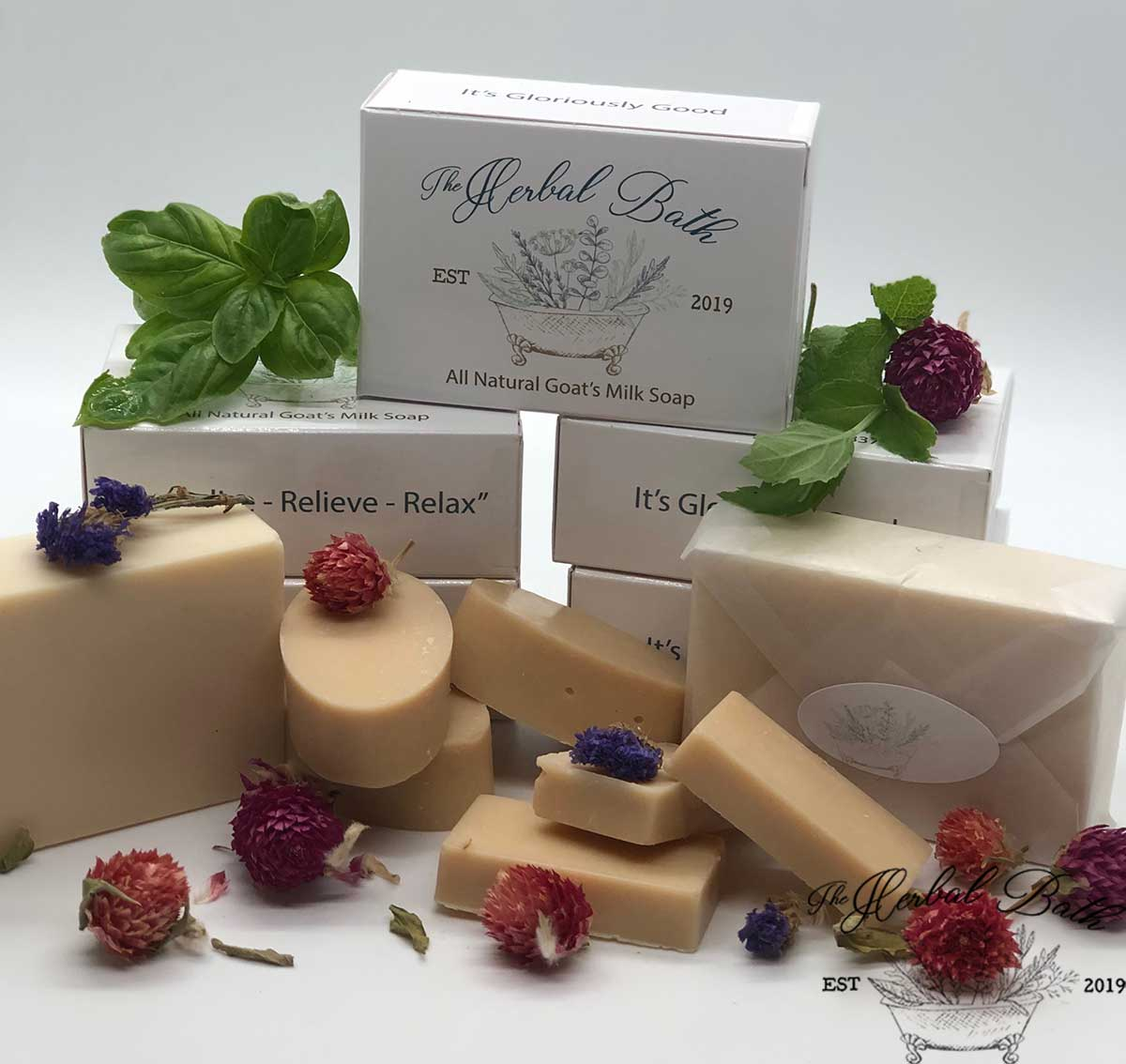 Goat's Milk Soaps-All