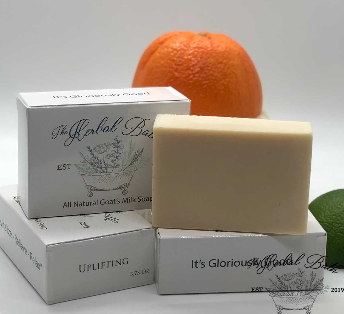 Uplifting Signature Blend-Goat's milk soap
