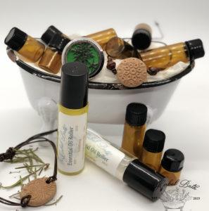 essential oils stress less blend