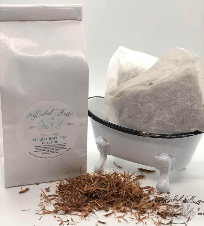 white oak bath tea