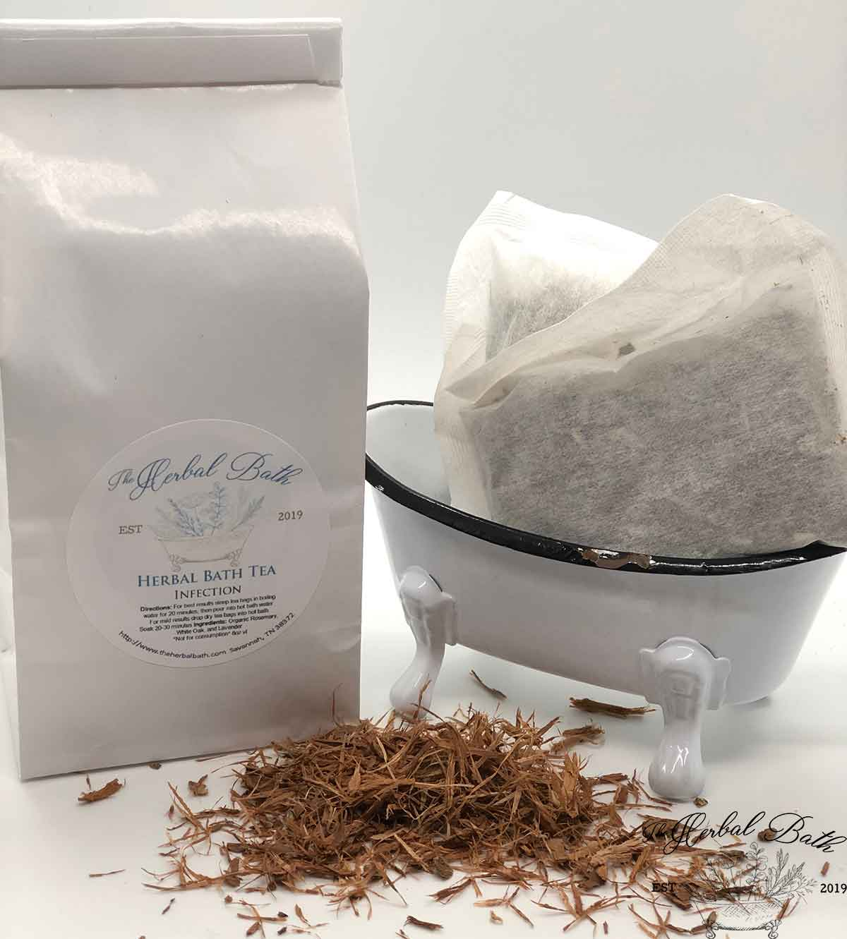 Infection relief herbal bath tea