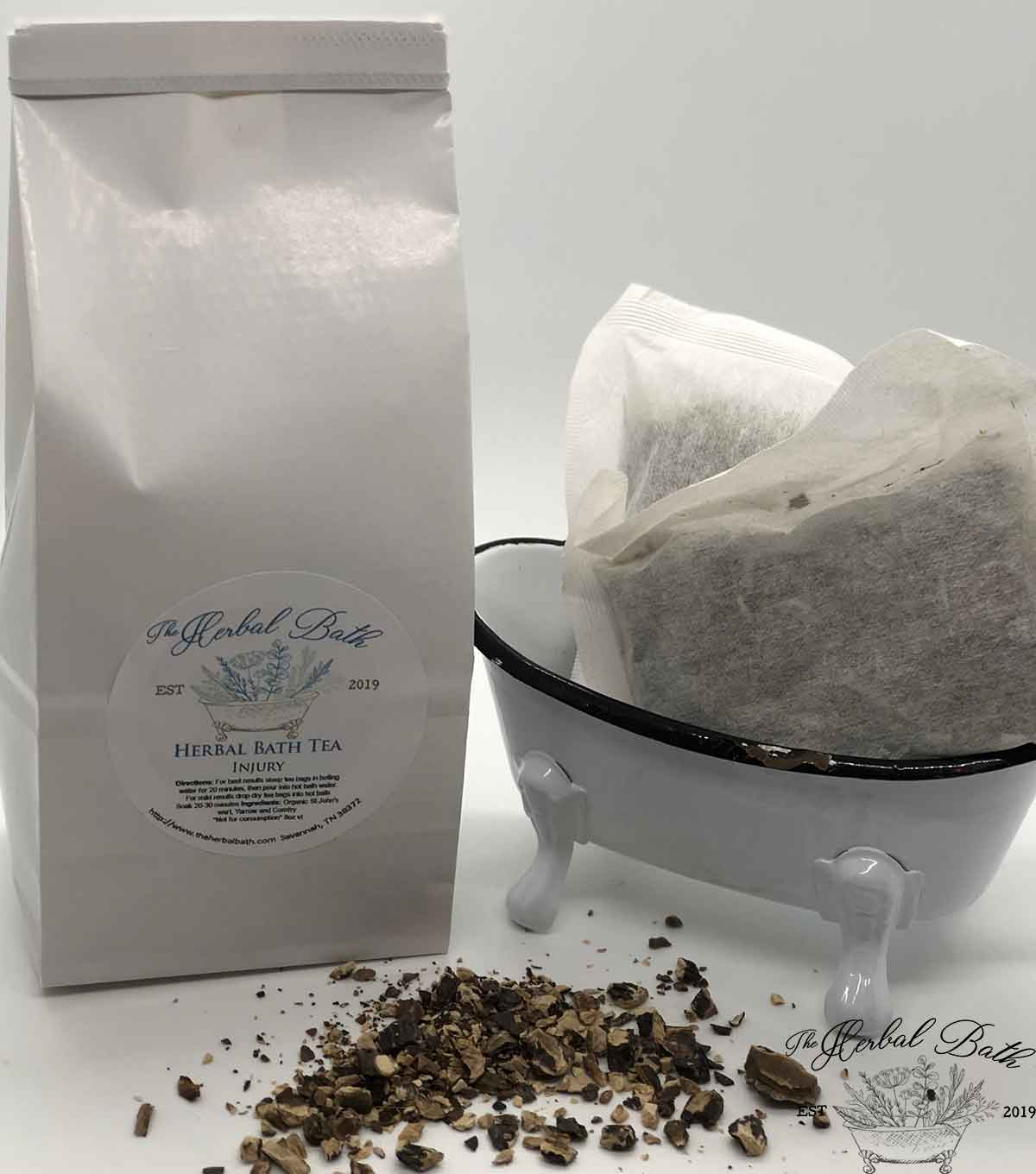 Herbal bath tea-athletes