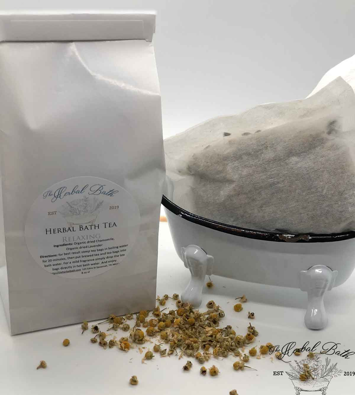 Bath Tea Soak for Relaxing