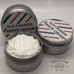 old fashion shave cream