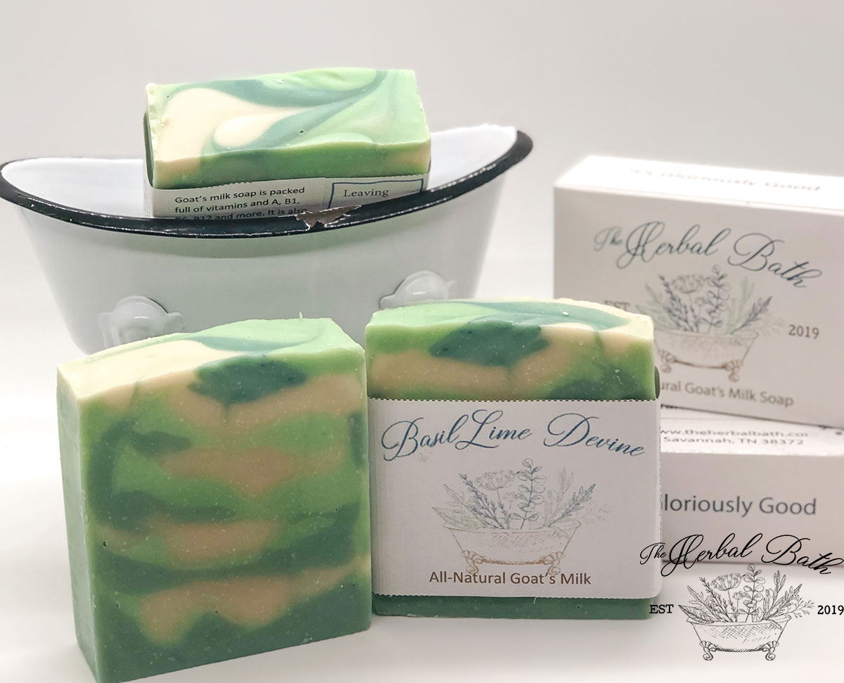 Basil Lime Divine soap