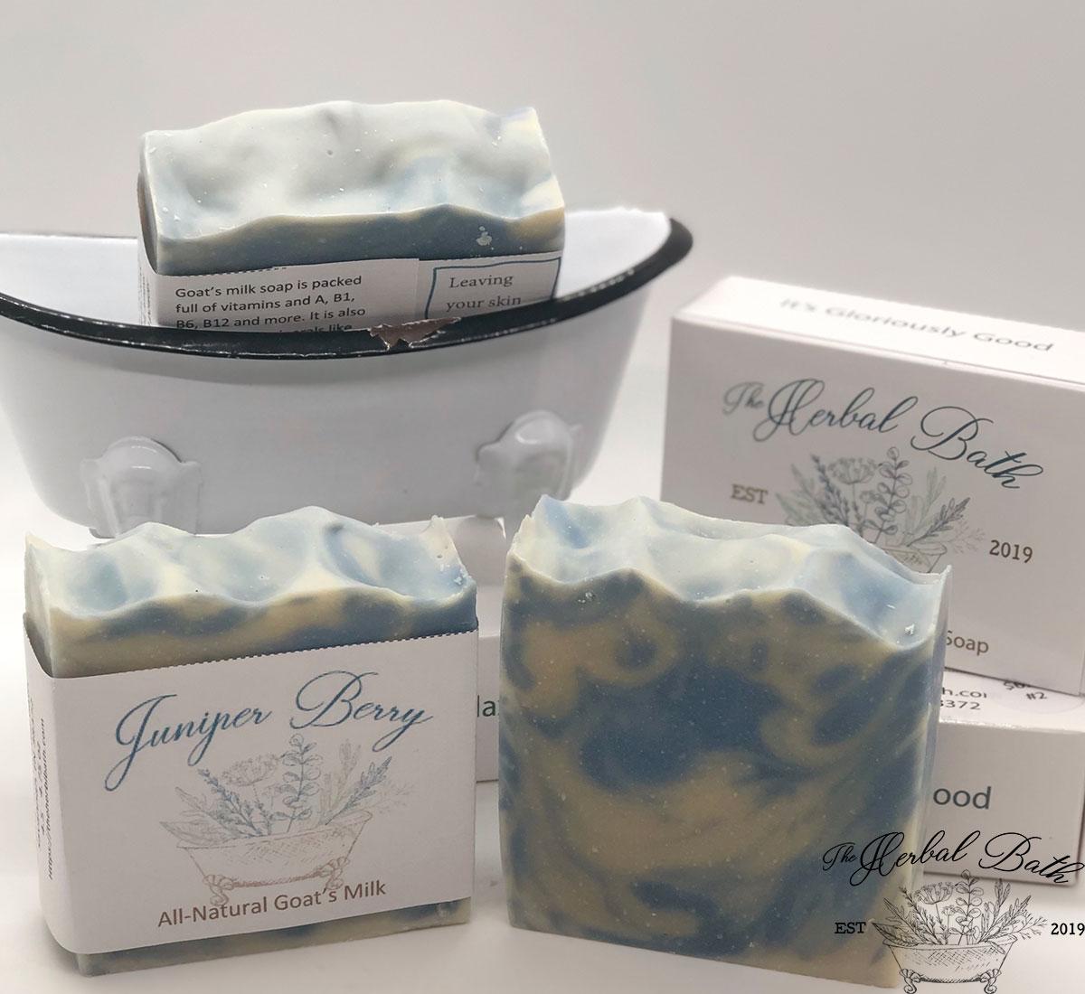 Juniper Berry Goat\'s Milk Soap
