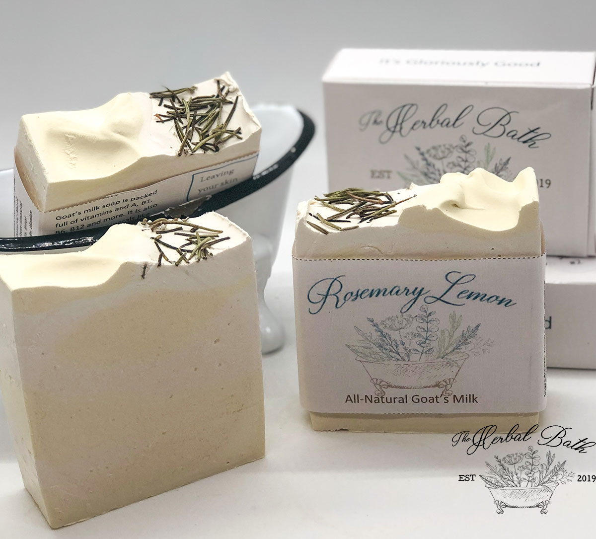 Rosemary Lemon Bliss soap