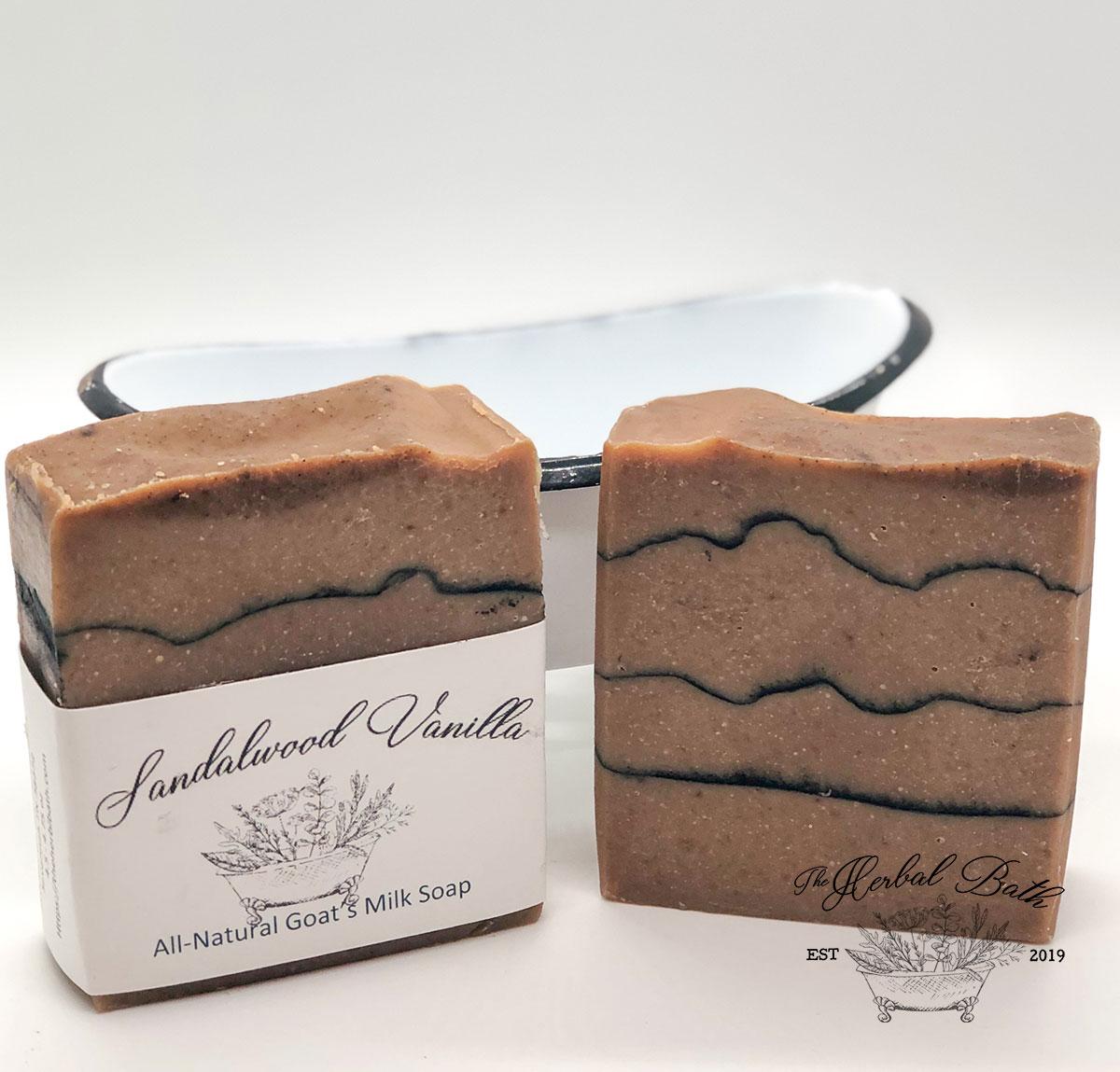 Sandalwood and Vanilla Soap
