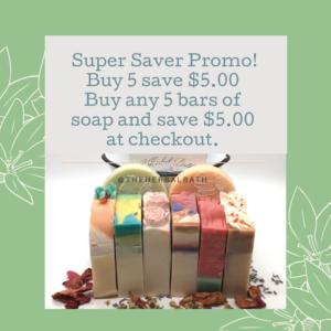 Spring Super Saver Promotion