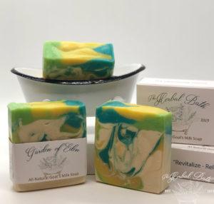 garden of eden goats milk soap