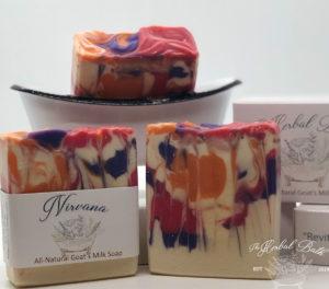 nirvana goats milk soap