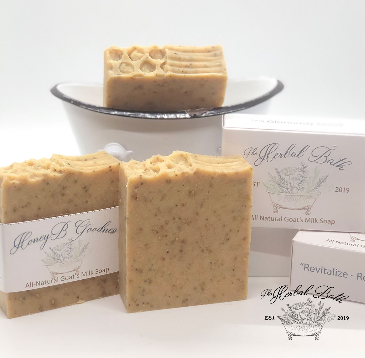 Honey Bee Bar Soap