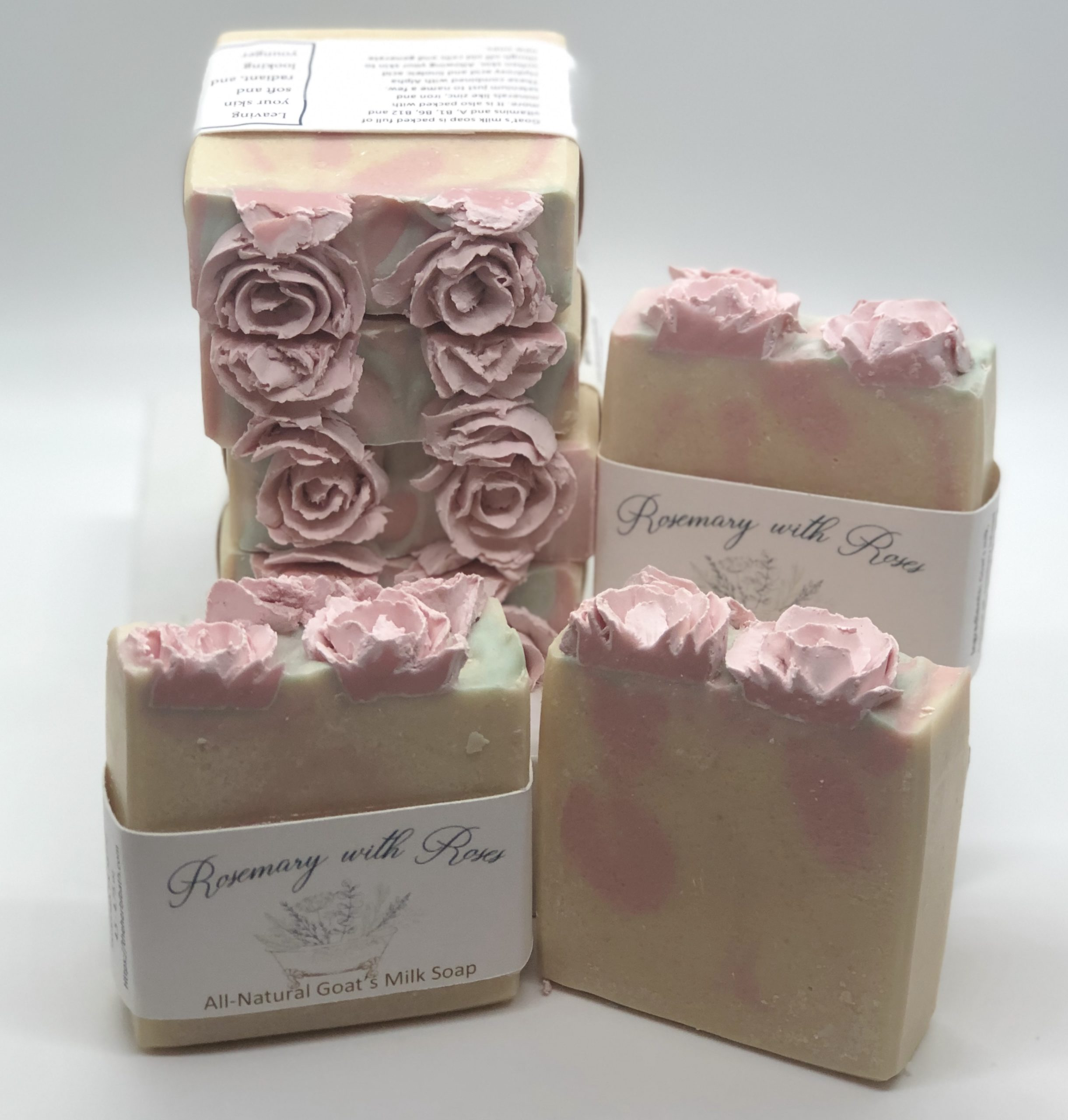 Rosemary with roses Soap