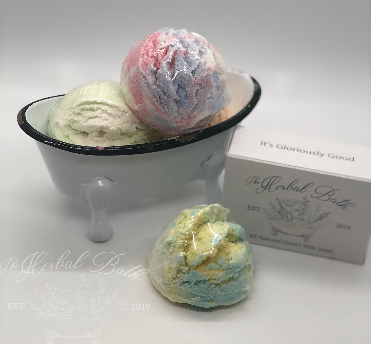 Bubble Bath Scoops