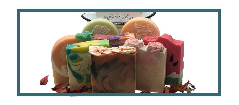 Goat's milk soaps