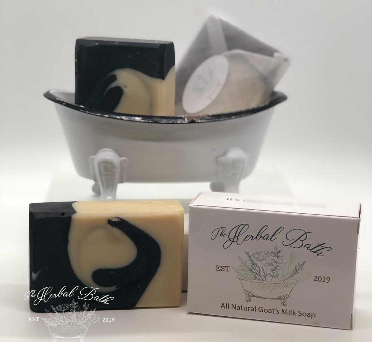 Activated Charcoal Kaolin Clay Soap