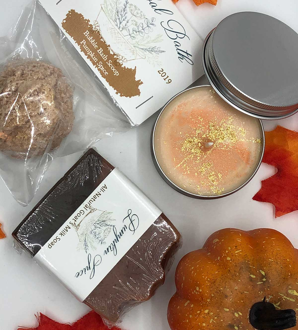 Pumpkin Spice gift set