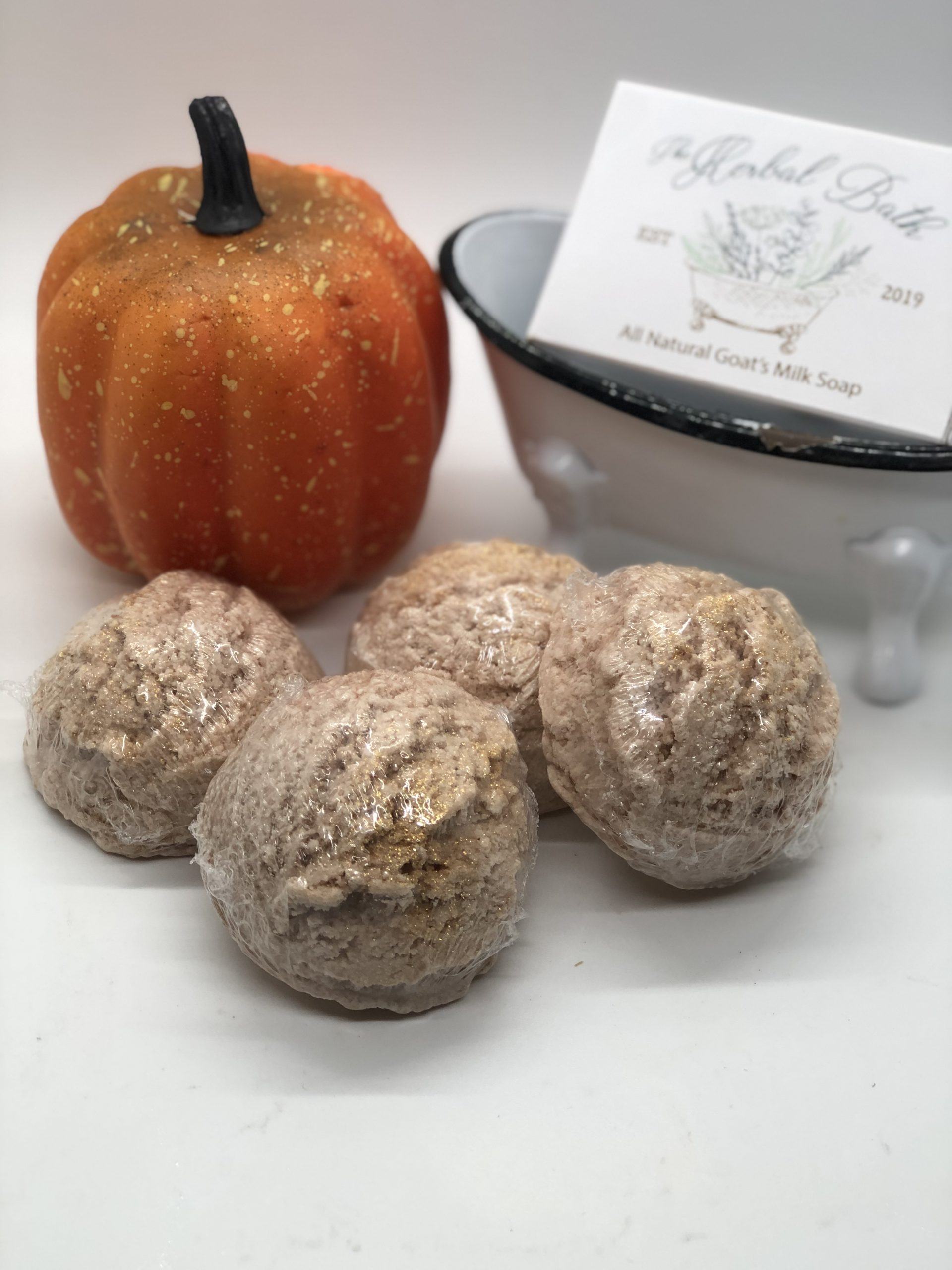 Luxurious Pumpkin Spice Bubble Bath Scoop