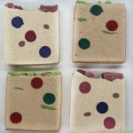 holly jolly and sugar plum soap