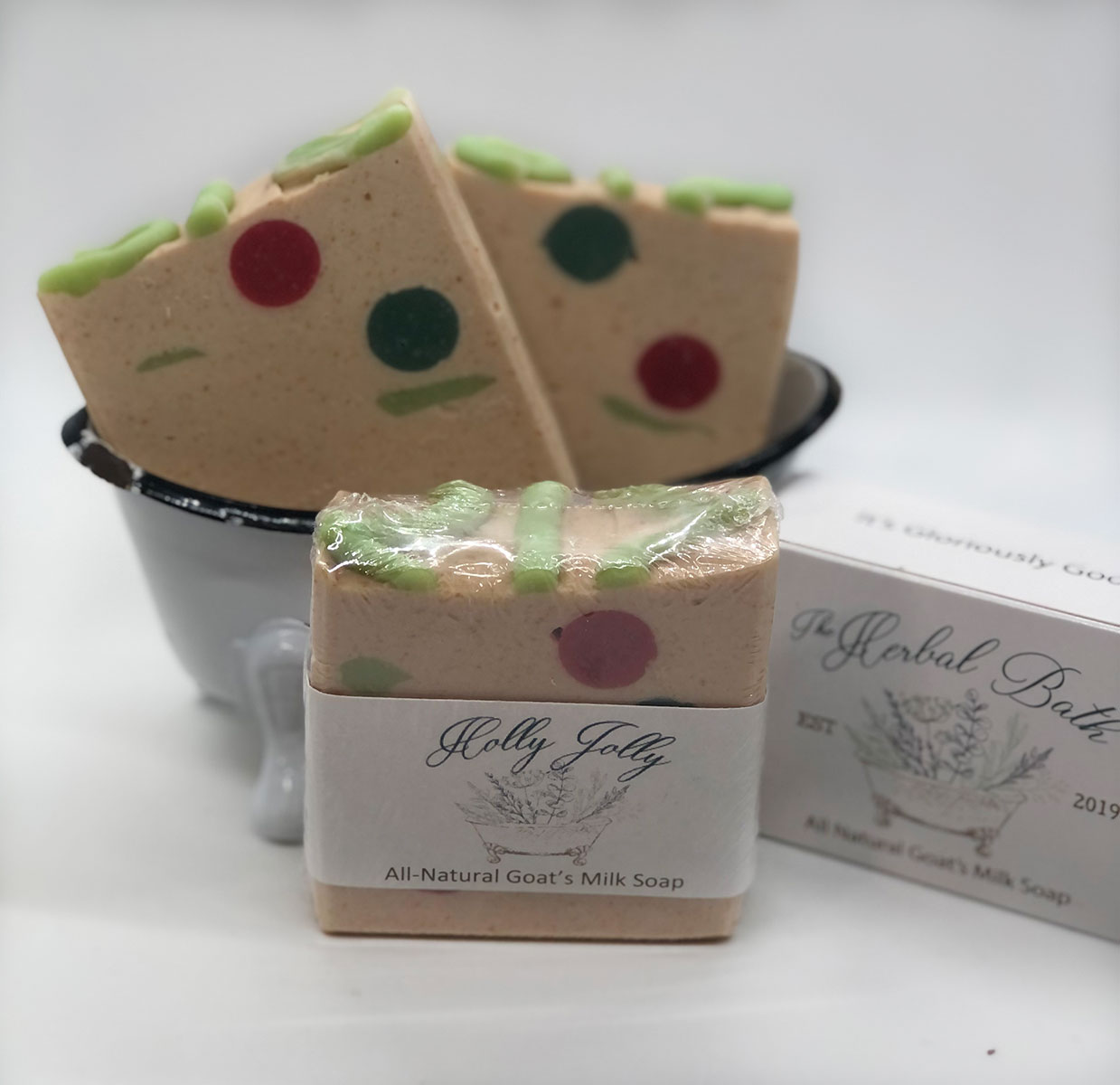 Holly Jolly Soap