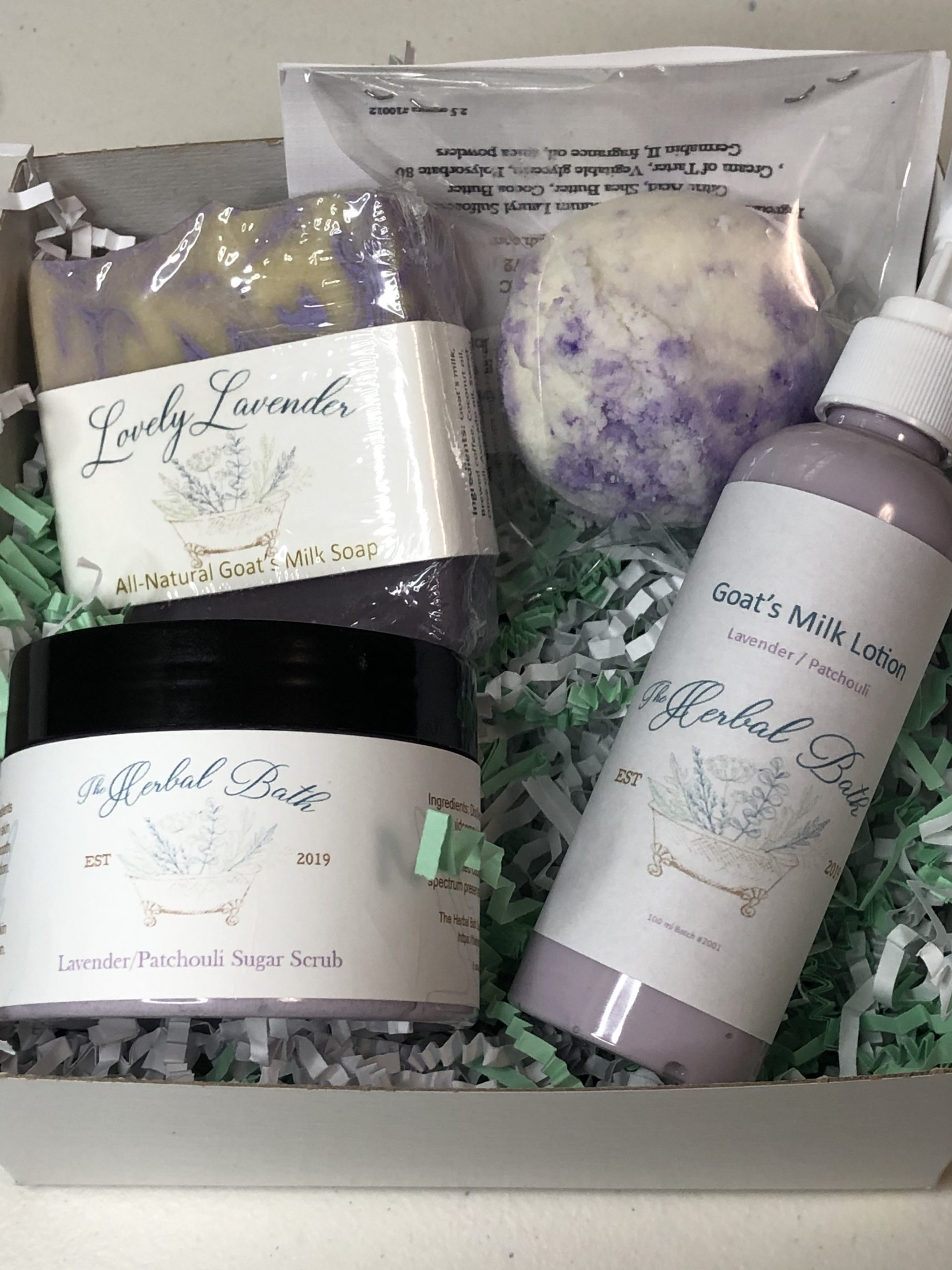 Personalized boxed gift sets