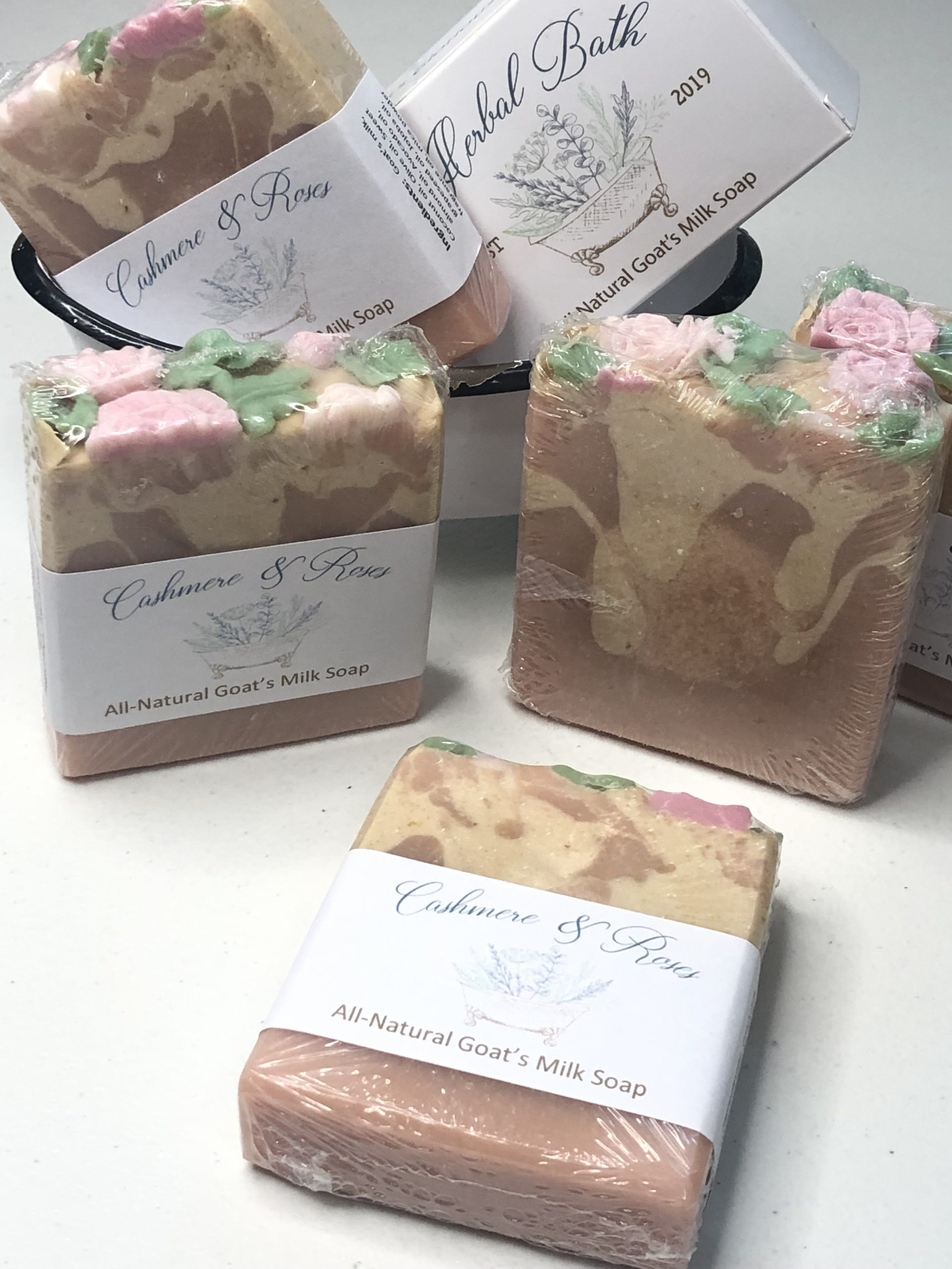 Cashmere Roses soap