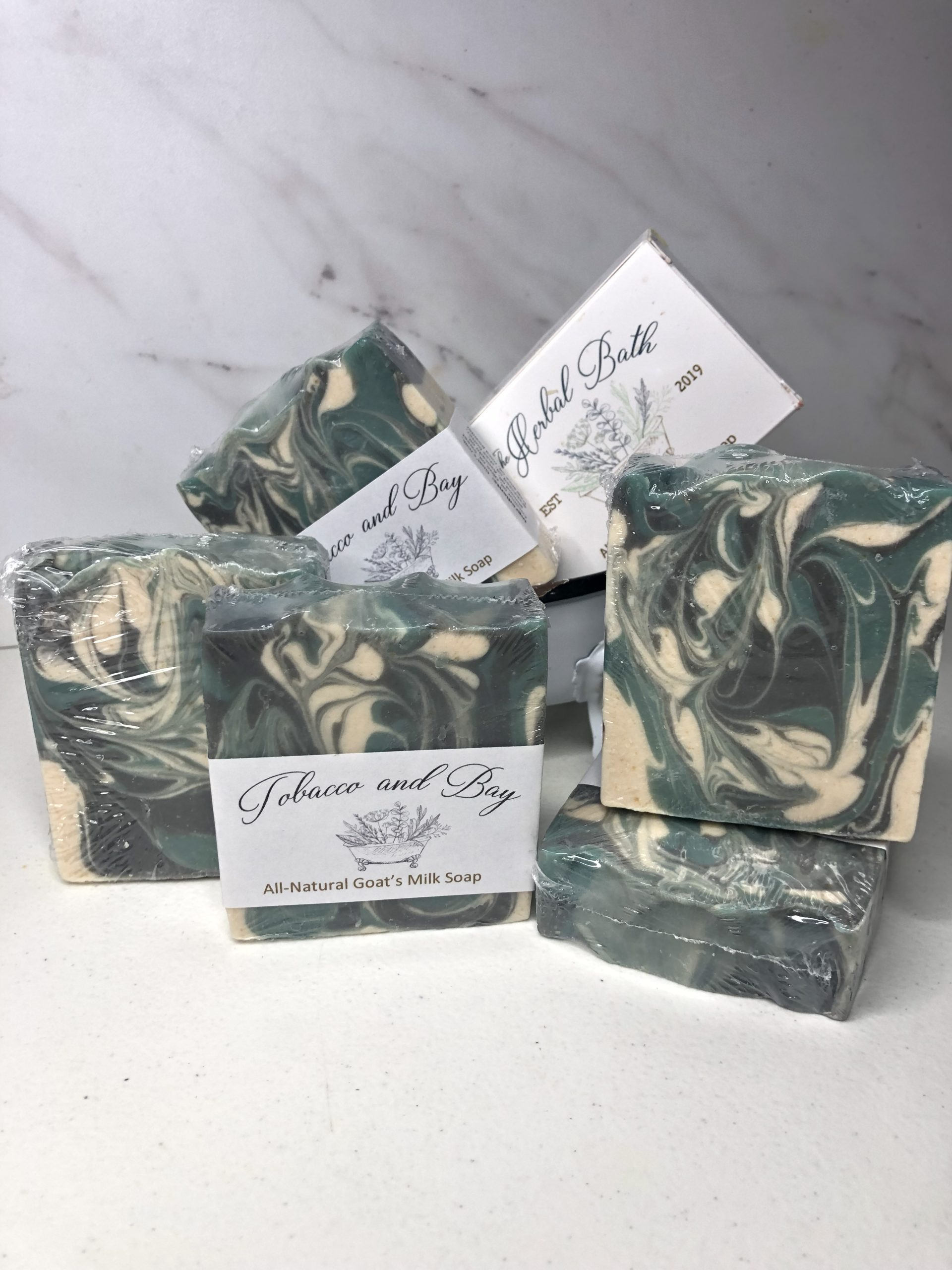 Tobacco and Bay Soap