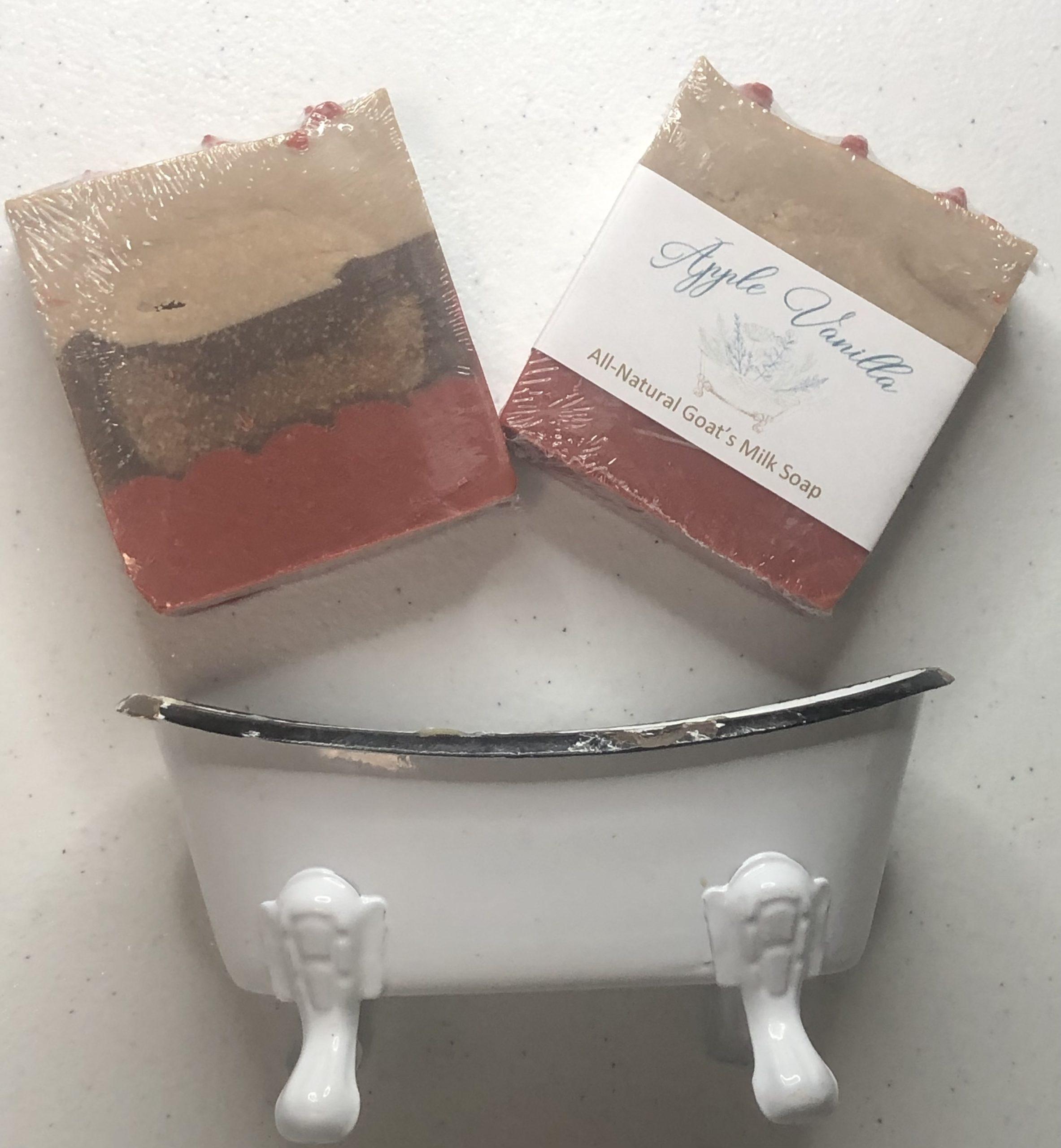 Apple Vanilla Soap