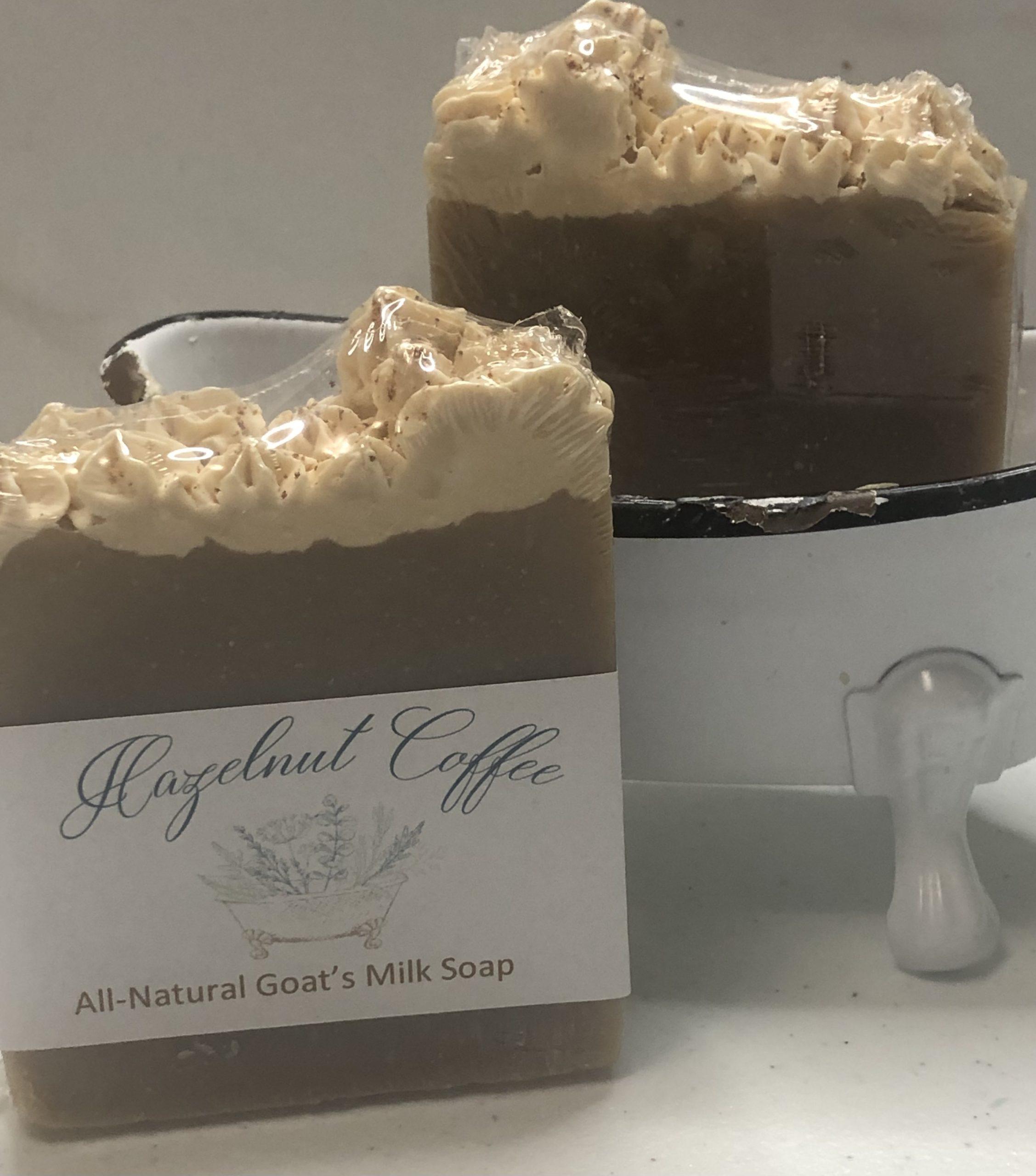 Hazelnut Coffee Soap